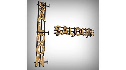 Saloon Bulb Sign