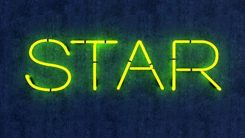 Star Neon Sign