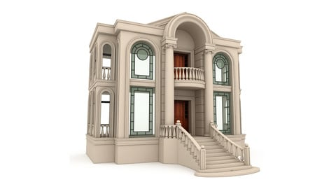 Classical Building 03