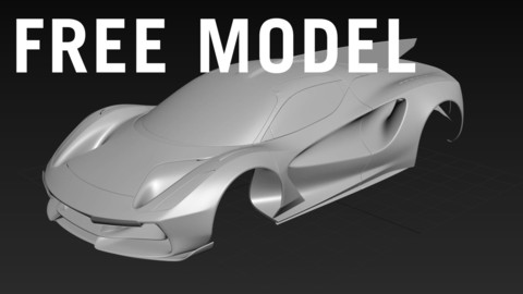Lotus Evija GT1 Racecar - Free Model