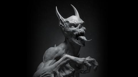 ♦ ManBat Statue ♦