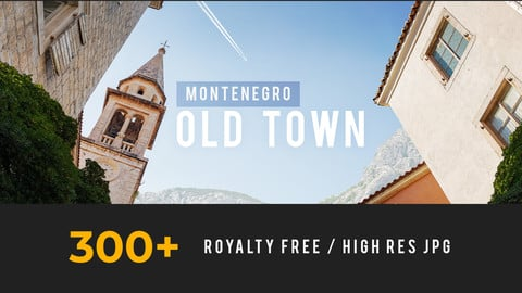 Montenegro - old town and nature - 305 photos