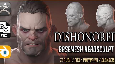 Dishonored Style Basemesh Headsculpt (WhaleHunter)