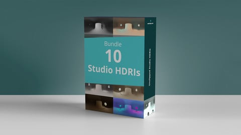Bundle 10 Studio Hdris - Pack