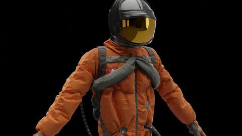 Rigged Astronaut