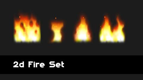 Fire 2d FX Package