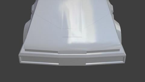 StarCar from The Last StarFighter New Design 3D print model