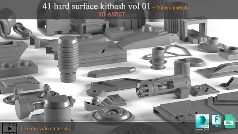41 hardsurface + 116 min video tutorial