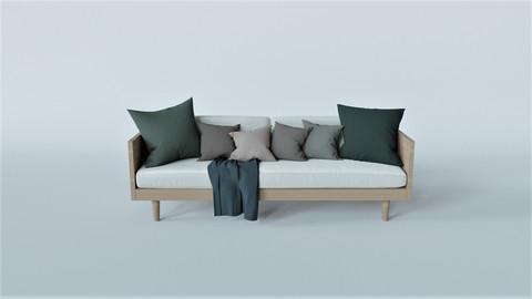 Sofa 3D-Model