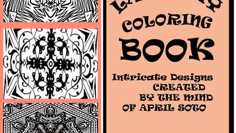 LAZY DAY COLORING BOOK #3