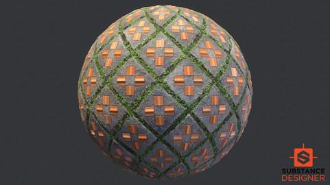 Substance Designer Street Tile Texture