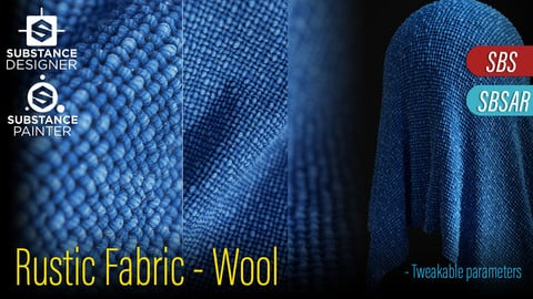 Rustic Fabric - Wool