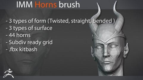 Zbrush Horns IMM