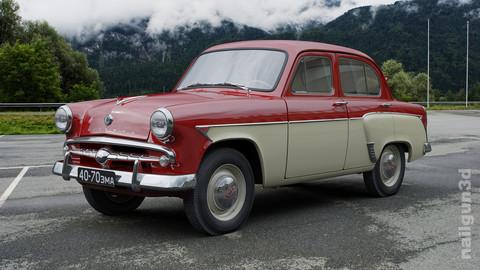 MZMA Moskvitch-407 1959