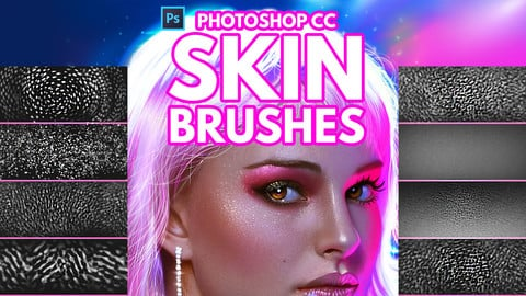 Skin Brushes for Photoshop