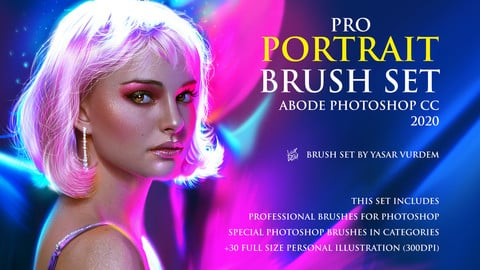 Portrait Brush Set for Photoshop