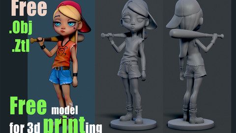 Free model for 3d printing