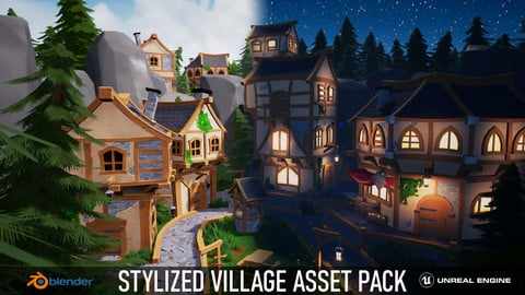 Stylized Village Asset Pack