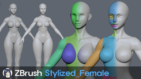 ZBrush Stylized Female