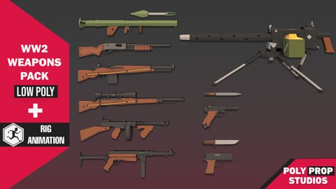 WW2 Weapons Pack