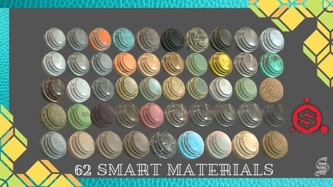 62 SMART MATERIALs FOR SUBSTANCE PAINTER