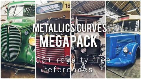Metallics curves megapack