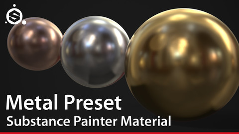 Metal Preset - Substance Painter Material