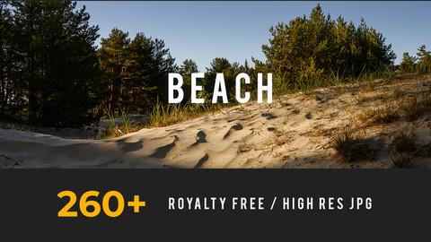 Beach, Environment pack