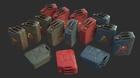 Jerrycan Assets Collection