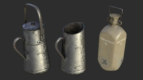 German Drink Containers WWII