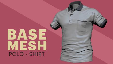 Polo Shirt - Base mesh