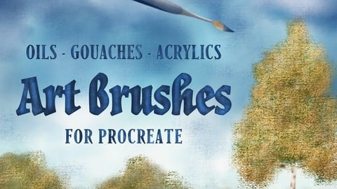 Art Brushes for Procreate