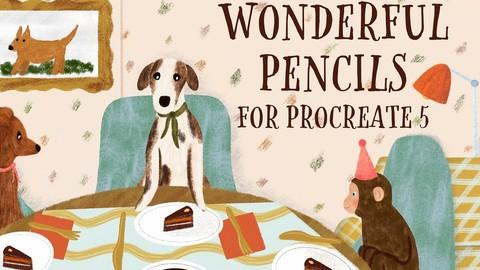 Wonderful Pencils for Procreate 5