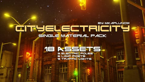 CITYELECTRICITY (game environment pack) by mkaplunow