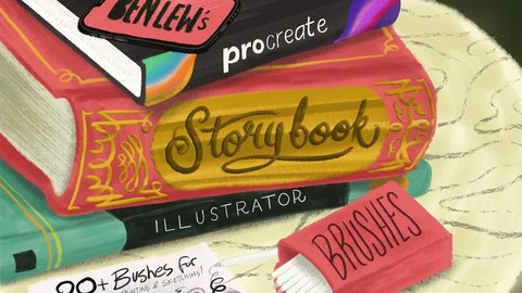 Storybook Illustrator for Procreate