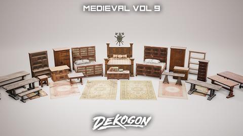 Medieval - VOL 9 - Castle Furniture