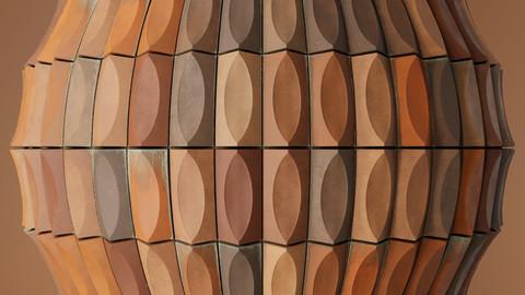 Concrete Curved Tiles