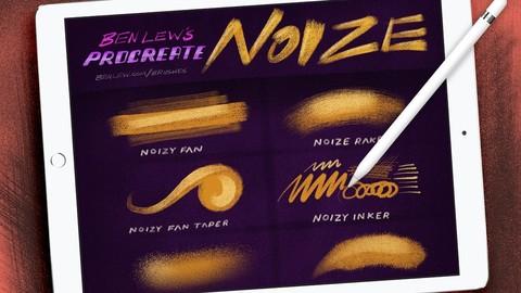 Procreate Noize - Procreate brushes