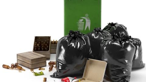 Garbage Bin Set2