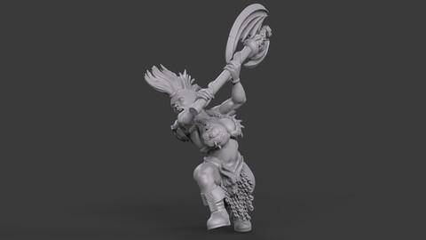 Female Dwarf Warrior_04
