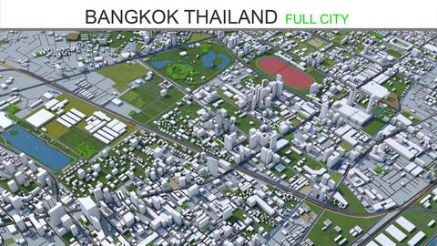 Bangkok Thailand  City 3D Model