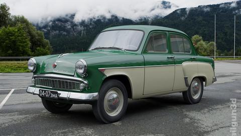 MZMA Moskvitch-407 1962 / Moskvitch-403.