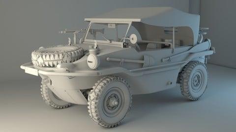 Volkswagen type 166 Schwimmwagen military edition
