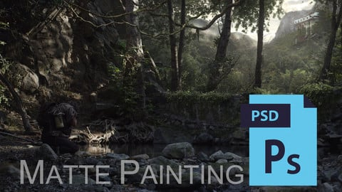 Dust - Matte Painting I. - PSD file