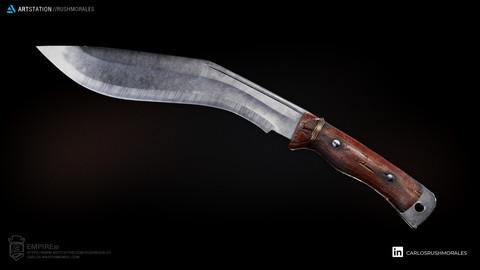 EMPIRE 3D Knife Kukri 1