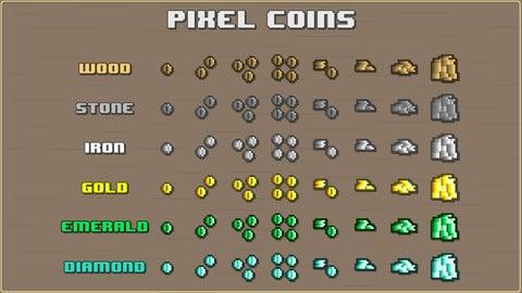 Pixel Coins