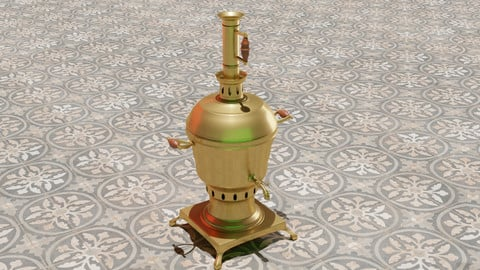 Maghrebin Traditional Tea Pot