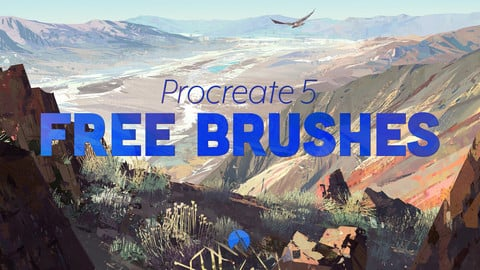 FREE Brushes - 7 Custom Brushes for Procreate 5