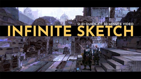 Infinite Sketch S1E1 Quick-Kit