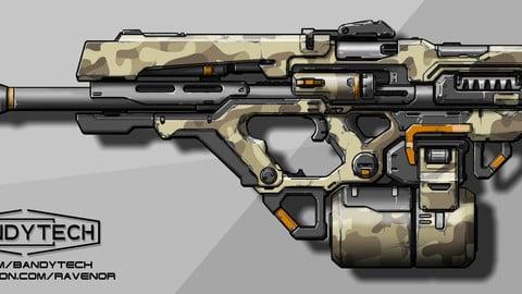 Assault rifle concept